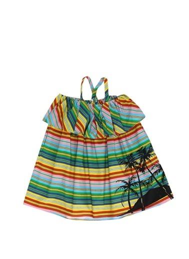 MSGM Elbise Renkli